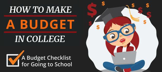Making a College Budget Checklist